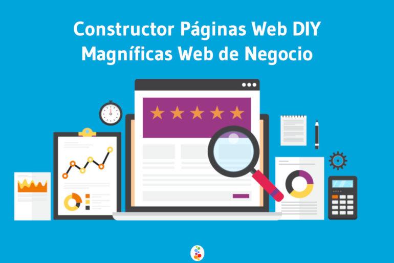 Constructor Páginas Web DIY Magníficas Web de Negocio Openinnova