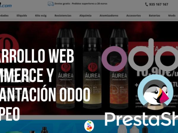 Desarrollo Web Ecommerce y Implantación Odoo – Ivapeo