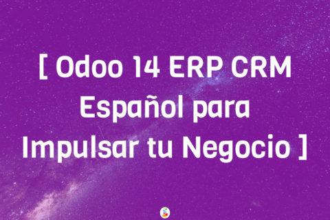 Odoo 14 ERP CRM Español para Impulsar tu Negocio Openinnova