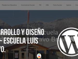 Desarrollo y Diseño Web – Escuela Luis Bravo