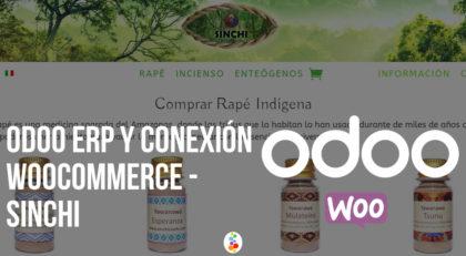 Odoo ERP y Conexión Woocommerce – Sinchi