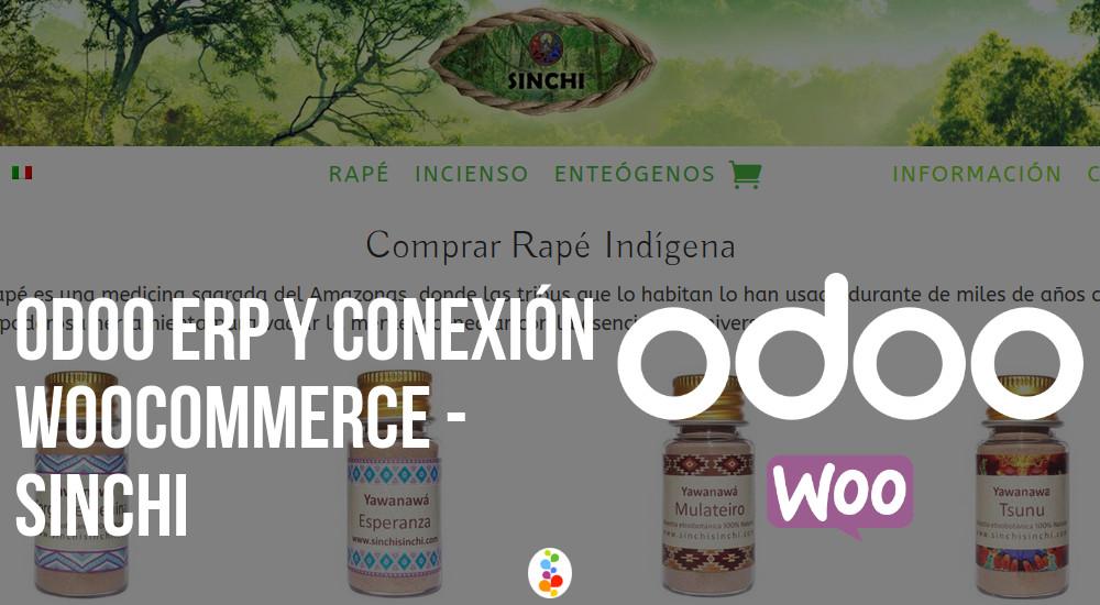 Odoo ERP y Conexión Woocommerce - Sinchi Openinnova