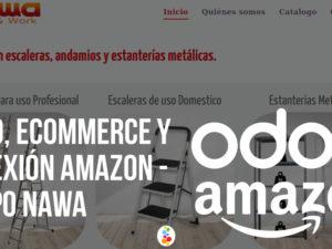 Odoo, Ecommerce y Conexión Amazon – Grupo Nawa