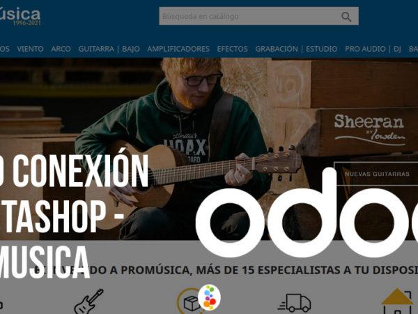 Odoo Conexión Prestashop – Promusica