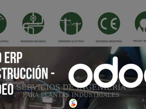 Odoo ERP Construcción – Prodeo