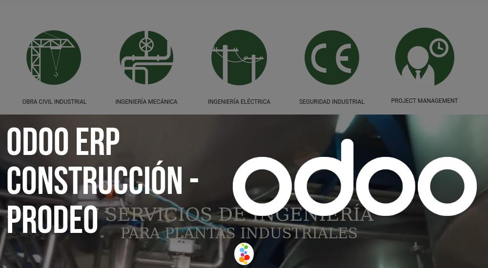 Odoo ERP Construcción - Prodeo Openinnova